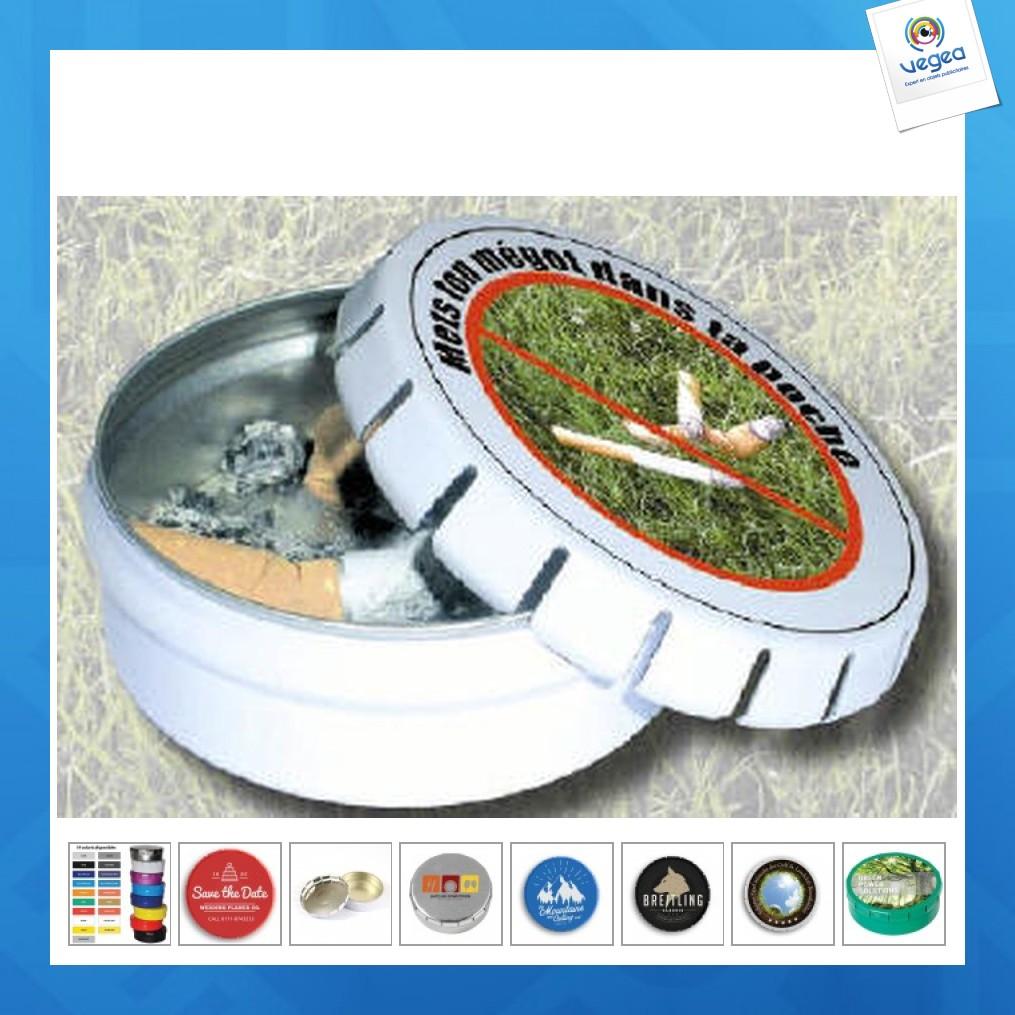 Cendrier de poche clic clac 45mm